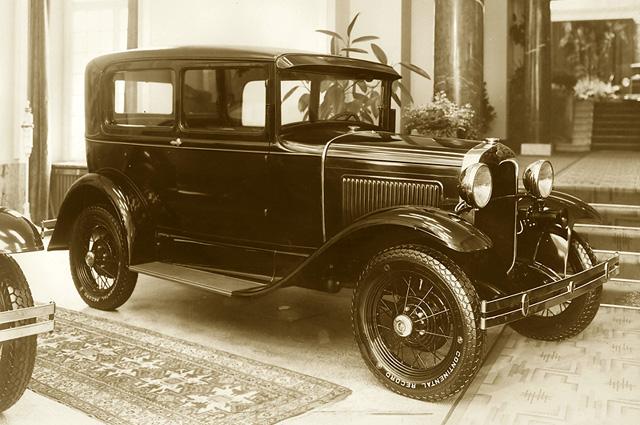 Ford A Tudor Sedan, 1931