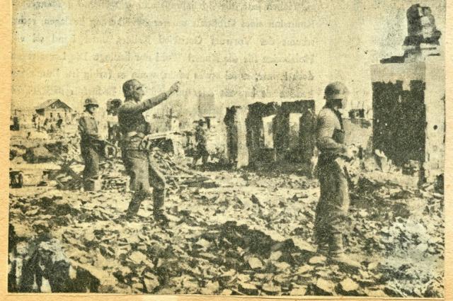 Разрушенный Сталинград в 1942-1943 гг