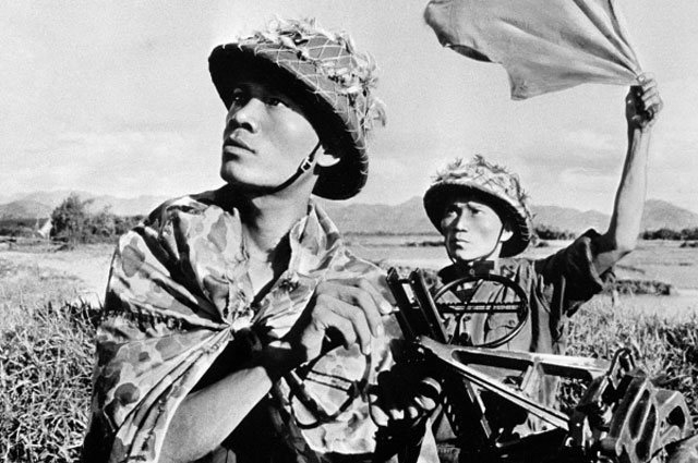 Бойцы вьетнамской армии
