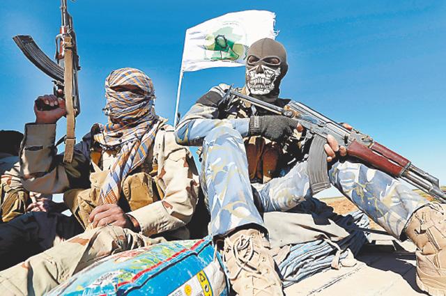 Радикальные исламисты.
