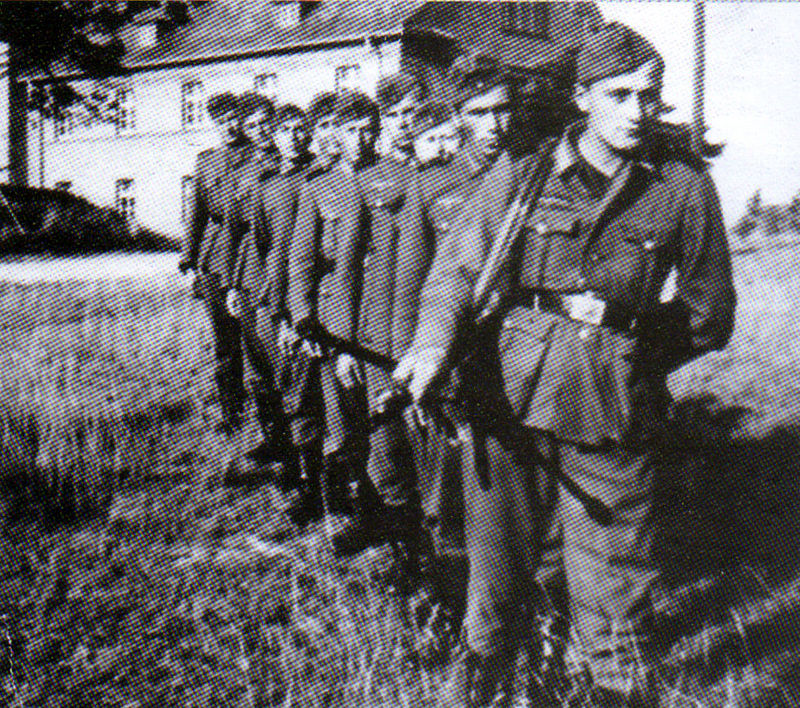 Бойцы батальона Нахтигаль