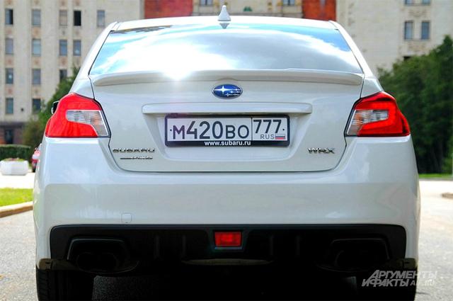 Тест-драйв Subaru WRX