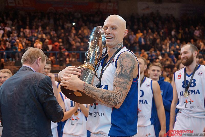 «Парма» завоевала первый серьёзный трофей в своей недолгой истории.