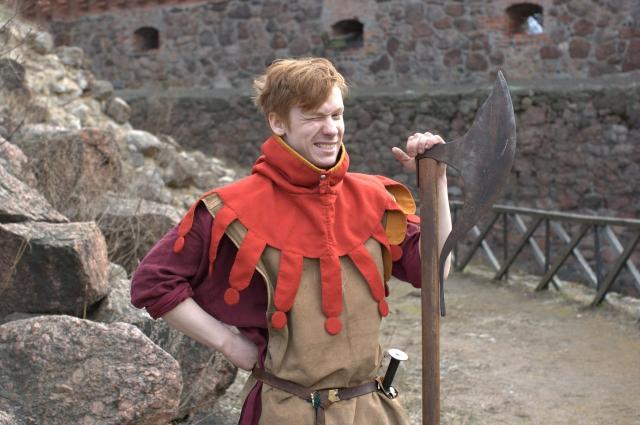 20-летний Сергей стал палачом Выборгского замка.
