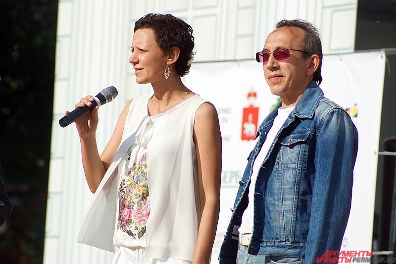 Перед зрителями выступила  заместитель регионального министра культуры Ирина Ясырева.