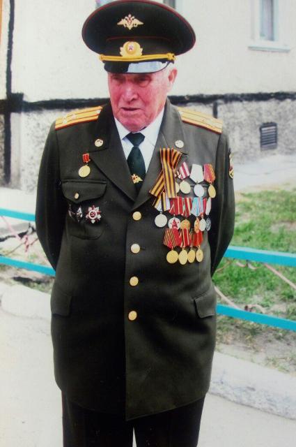Ветеран Михаил Никишин