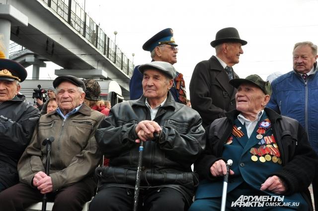 Ветераны - главные гости на акции