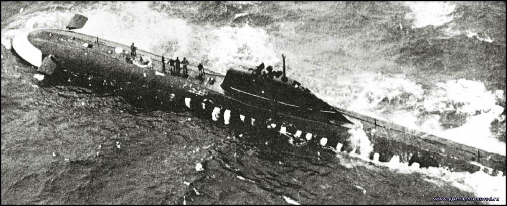 Гибель К-8 и 52 членов экипажа стали первой потерей советского атомного флота.