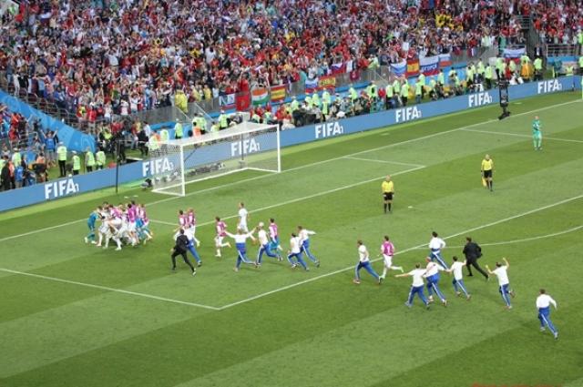 Матч Россия - Испания.