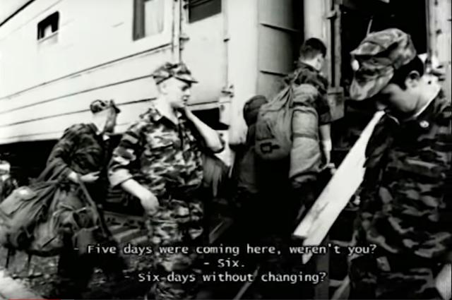 Кадр из самого известного фильма А. Расторгуева «Чистый четверг». Фото: Кадр youtube.com