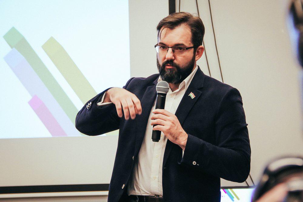 Виталий Еремеев прочитал лекцию про создание бренда города.
