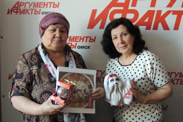 Призы уехали в один из районов Омской области.