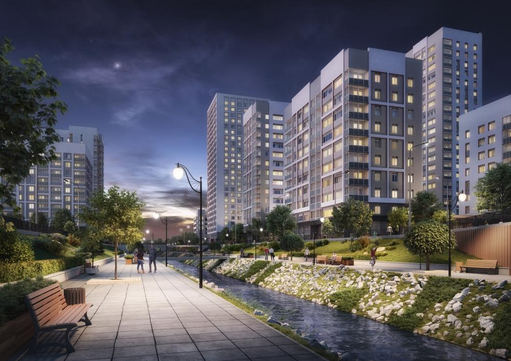 При проектировании новых кварталов в Академическом большое внимание уделяется благоустройству .