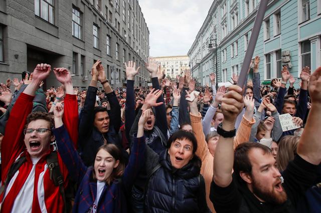 Акции протеста 20 июля собрали не более 12 тысяч человек.