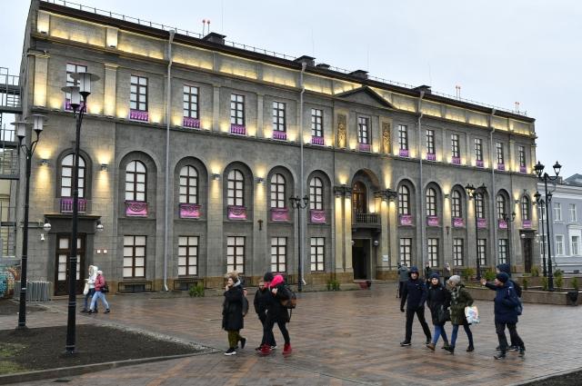 Центр «Эрмитаж-Сибирь» расположился в здании с богатой историей.