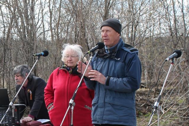 Владимир Лукьянов все-таки открыл мемориал.
