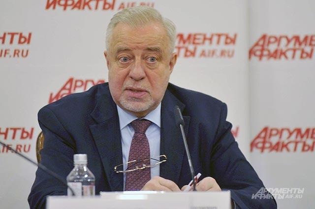 Академик Николай Малофеев, вице-президент Российской академии образования.