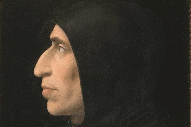 Портрет Савонаролы кисти Фра Бартоломео, около 1498
