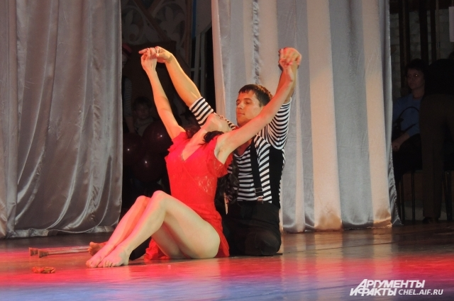 Сергей Швец и Дарья Завьялова. Танго