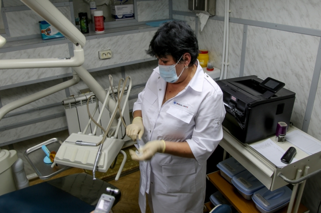 Поликлиника оборудована всем необходимым для первичной диагностики оборудованием.