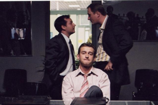 Пока герой Хабенского переосмысливал свою жизнь, персонаж Зиброва хотел занять место своего начальника.