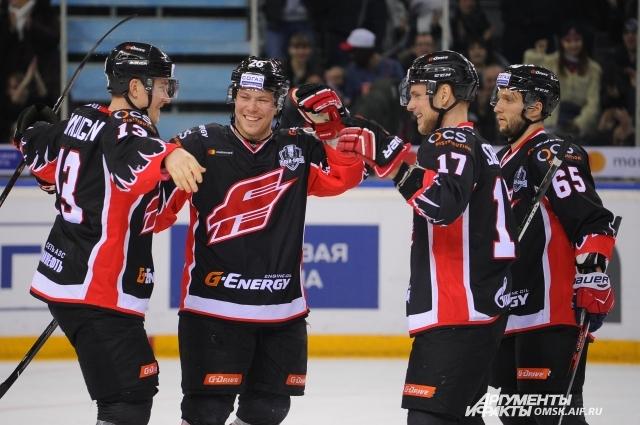 Заслуженная победа команды порадовала омских болельщиков.