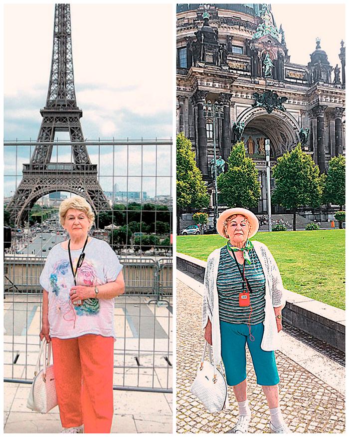 Пенсионерка промчалась «галопом поЕвропам», носчастлива, что увидела другой мир.