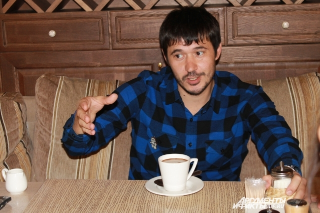 Стасу Тляшеву хотелось бы попробовать себя в качестве режиссера фантастического фильма