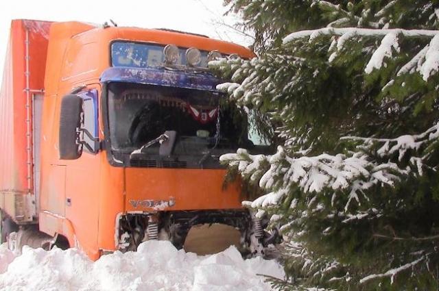 Авария произошла на трассе Пермь - Киров.