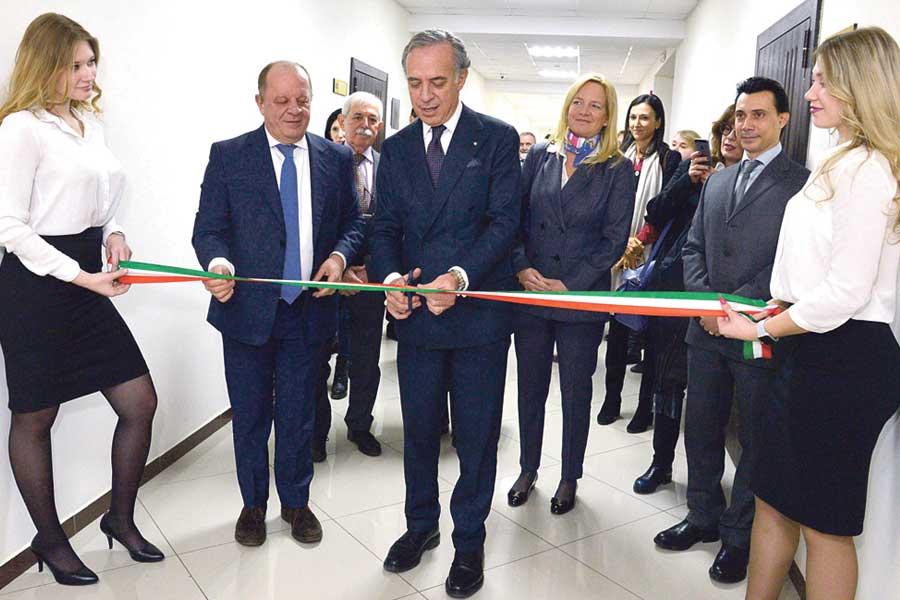 Почётное консульство будет работать в здании № 13 по улице Кривошеина.