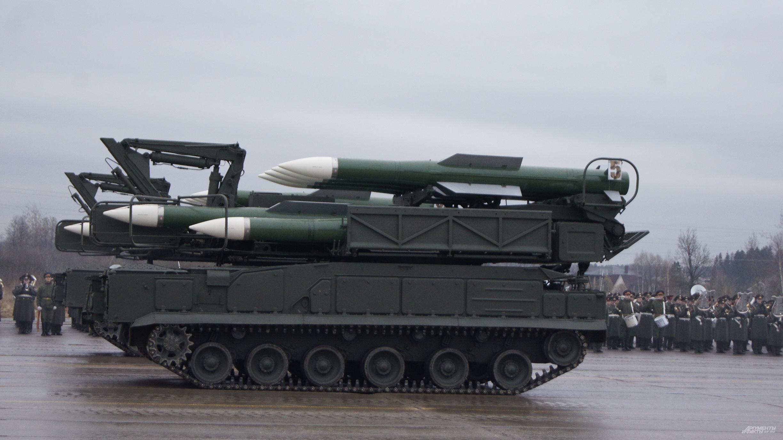 Дебютант парада зенитно-ракетный комплекс Тор-М2У