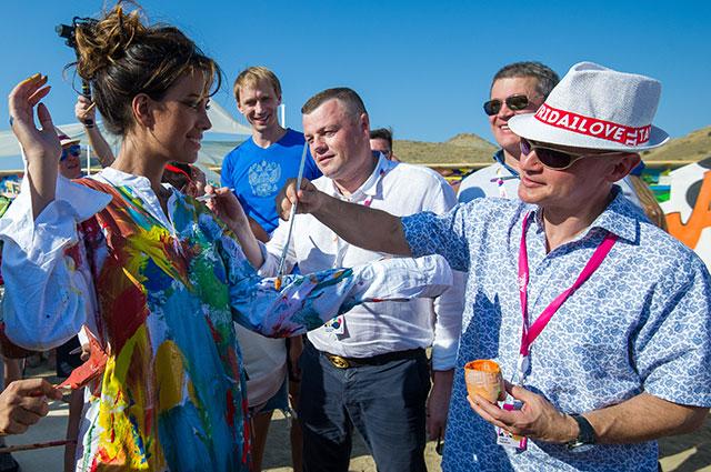 1-й замглавы Администрации Президента РФ Сергей Кириенко на фестивале «Таврида-АРТ».