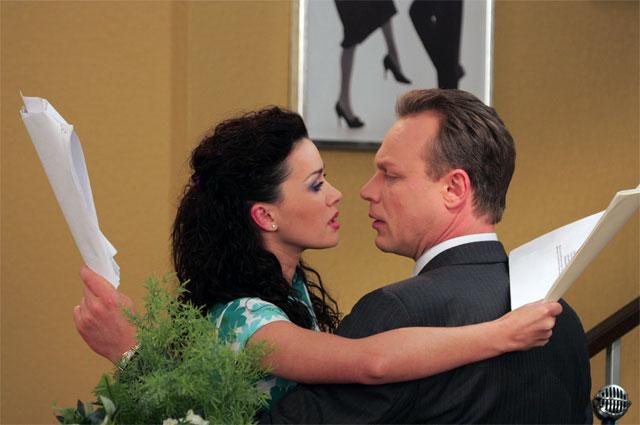 Анастасия Заворотнюк и Сергей Жигунов.