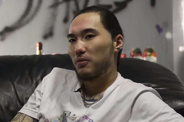 Казахстанский рэпер Скриптонит.