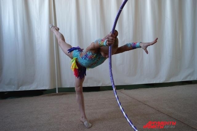 Гимнастка Ира добилась высоких результатов не только в спорте, но и в учёбе