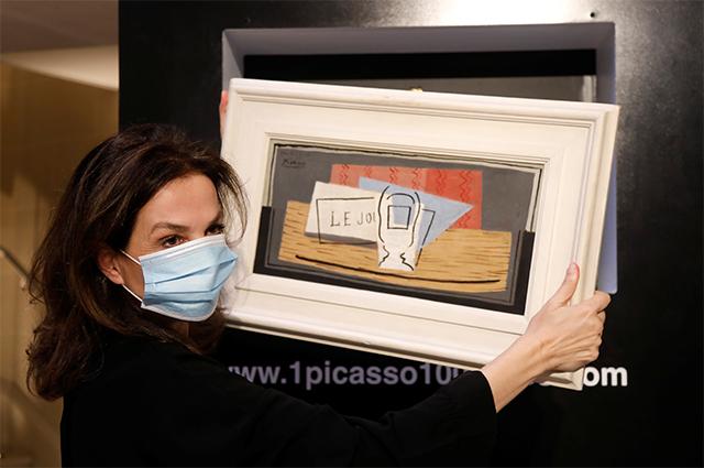 «Натюрморт» Пабло Пикассо написал в 1921 году.