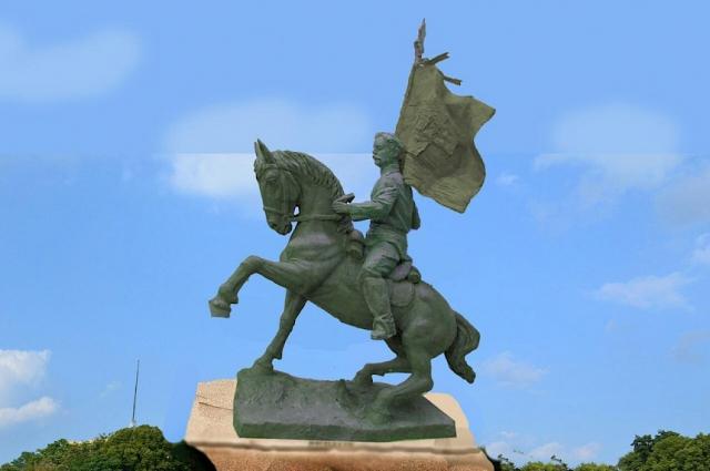 Проект памятник Павлу Калитину уже готов.