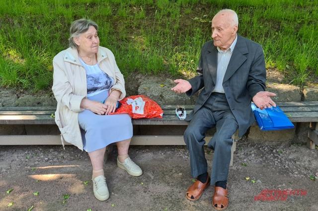 Светлана Артамонова и Леонид Булычев.