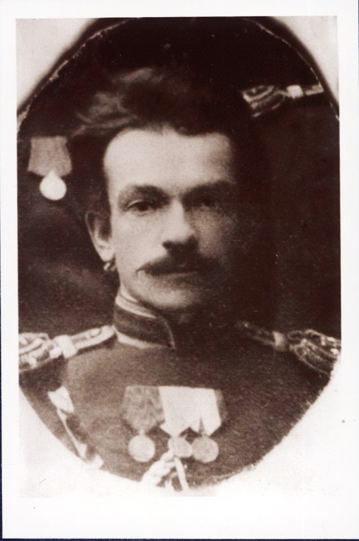 Александр Караулов (фрагмент общей фотографии), 1900 год.