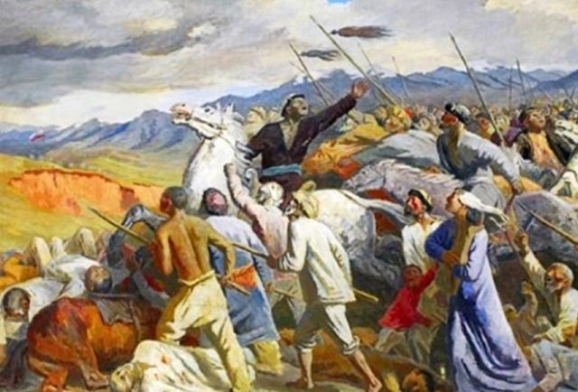 Среднеазиатское восстание 1916 года.