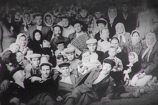 Русские жители Туркестана.