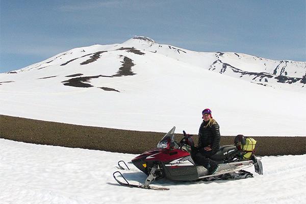 Наталья с мужем активно путешествуют по Камчатке.