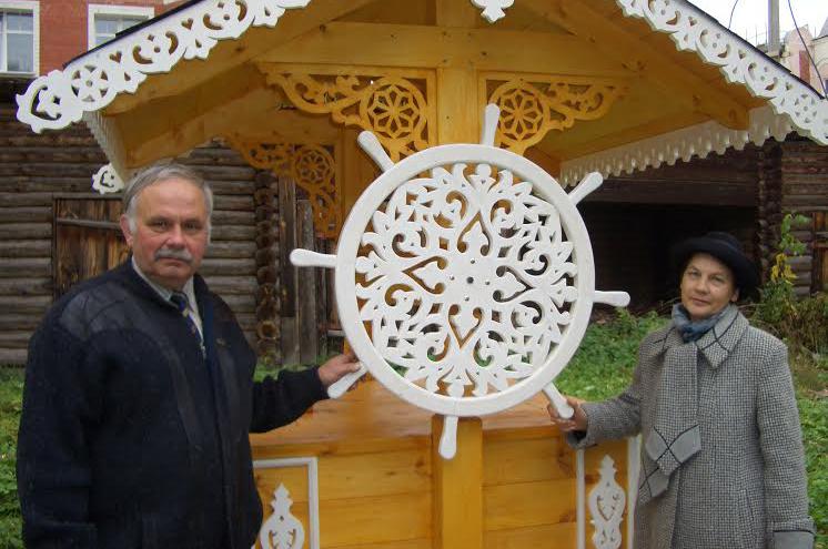 Деревянное зодчество Геннадия Лопатина