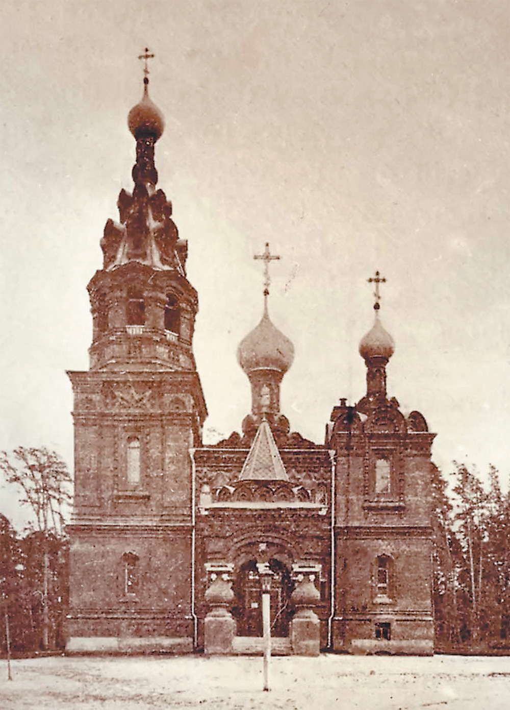 Церковь в Сокольничьей роще