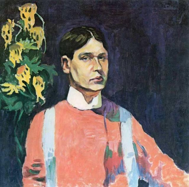 В дальнейшем Лентулов предстанет на своем полотне в ином облике.