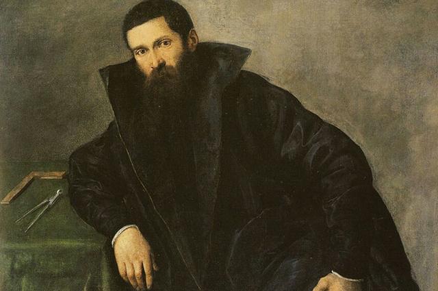 Воображаемый портрет Аристотеля Фьораванти кисти Лотто.