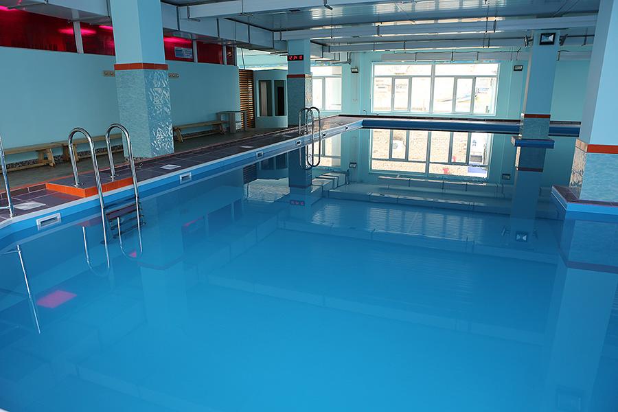 Спортивные площадки Приморья - бассейн