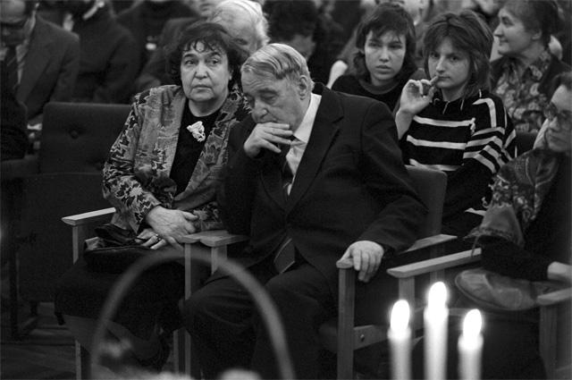 Лев Гумилев. 1989 г.