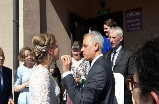 Ангелина и Федерико - свадьба в русских традициях