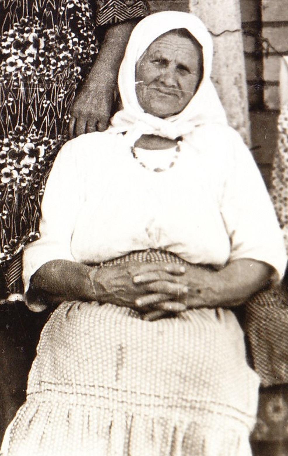 Евдокия Калашник одна вырастила шестерых детей.